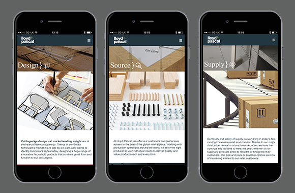 Lloyd Pascal Website - Mobile