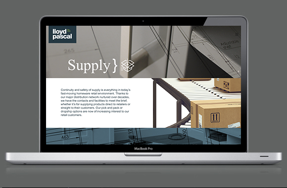 Lloyd Pascal Website - Supply Page